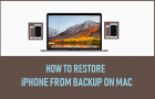 Restore iPhone From Backup on Mac