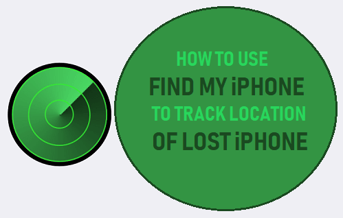 Use Find My iPhone to Track Location of Lost iPhone