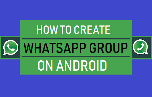 Create WhatsApp Group on Android Phone