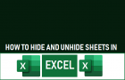 Hide And Unhide Sheets in Excel