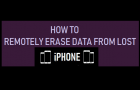 Remotely Erase Data From Lost iPhone