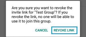 Revoke WhatsApp Group Invite Link