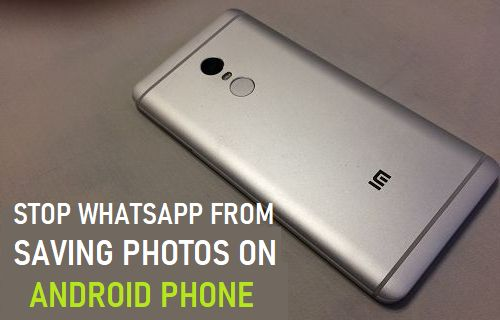 Stop WhatsApp From Saving Photos On Android Phone