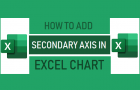 Add Secondary Axis in Excel Chart