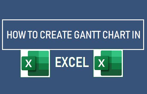 Create Gantt Chart in Excel