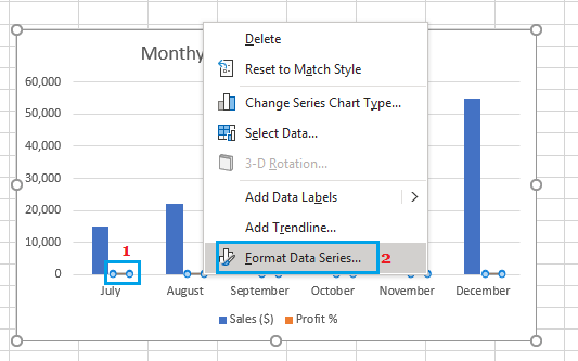 Format Excel Chart Data Series