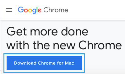 Download Chrome For Mac