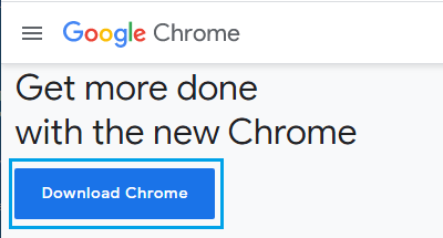 Download Chrome For Windows