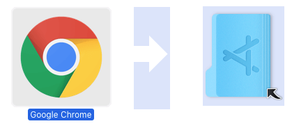 Move Google Chrome to Applications Folder on Mac