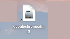 Open Google Chrome DMG File on Mac