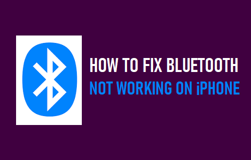 Fix Bluetooth Not Working on iPhone