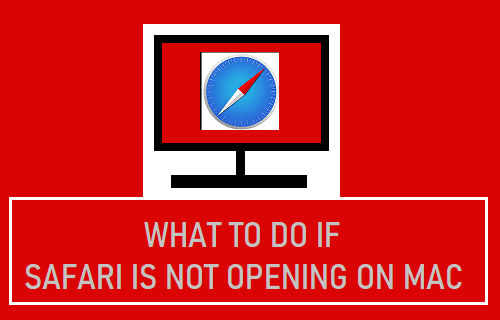 What to Do if Safari is Not Opening on Mac