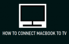 Connect MacBook to TV