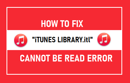 "Fix ""iTunes Library.itl"" Cannot be Read Error"