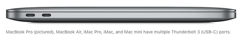Mac With Thunderbolt Ports