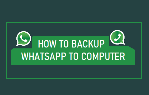 Backup WhatsApp to Computer