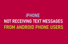 iPhone Not Receiving Text Messages From Android Phone Users