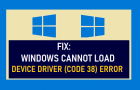 Fix: Windows Cannot Load Device Driver (Code 38) Error