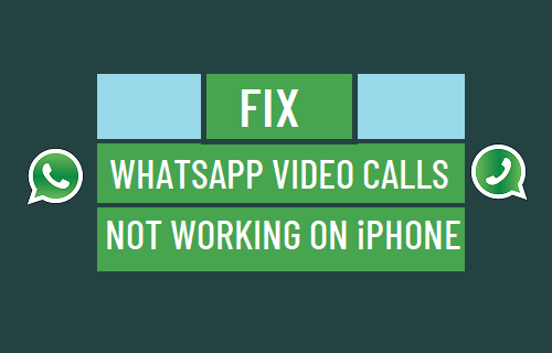 Fix: WhatsApp Video Calls Not Working on iPhone