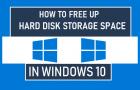 Free Up Hard Disk Storage Space in Windows 10