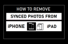 Remove Synced Photos From iPhone and iPad