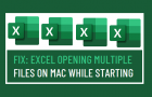 Fix: Excel Opening Multiple Files on Mac While starting