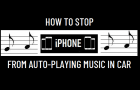 Stop iPhone From Auto-Playing Music In Car