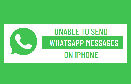 Unable to Send WhatsApp Messages on iPhone