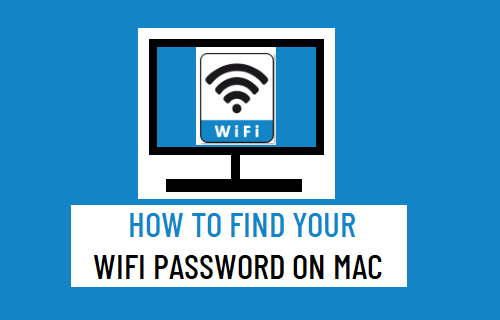 Find Your WiFi Password on Mac