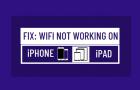Fix: WiFi Not Working on iPhone or iPad