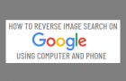 Reverse Image Search on Google