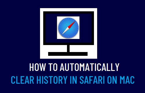 Automatically ClearHistory in Safari on Mac