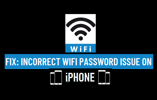 Fix: Incorrect WiFi Password Issue on iPhone
