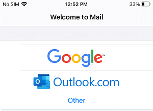 Select Google As Email Service Provider
