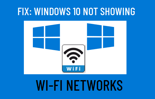 Windows 10 Not Showing WiFi Networks