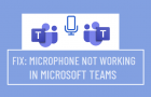 Microphone Not Working in Microsoft Teams