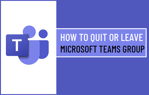 Quit or Leave Microsoft Teams Group