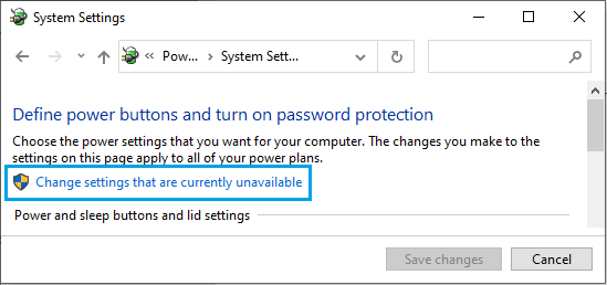 Access Additional Power Settings on Windows PC