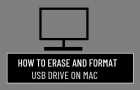 Erase and Format USB Drive on Mac