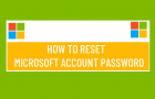 Reset Microsoft Account Password