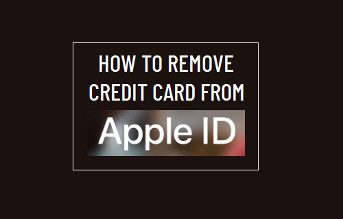 Remove Credit Card from Apple ID