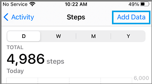 Add Data to iPhone Health App