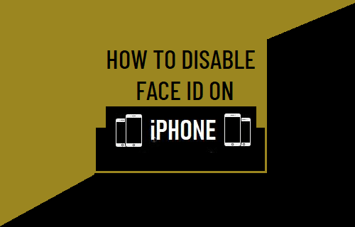 Disable Face ID on iPhone