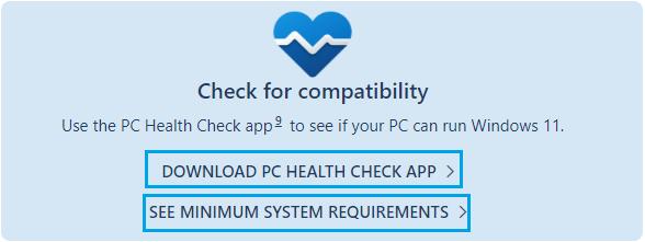 Download PC Health Check App