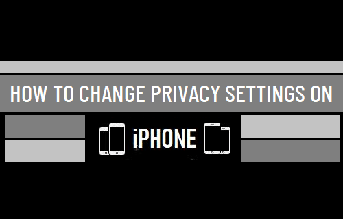 Change Privacy Settings on iPhone
