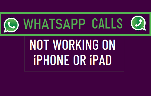 WhatsApp Not Working on iPhone or iPad